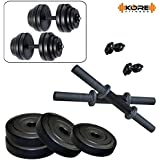 Kore K-DM-DRB-10kg-Combo 16 Dumbbells Kit