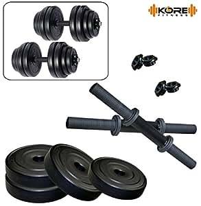 Kore K-PVC-DM-DRB 10Kg Combo 16 Dumbbells Kits