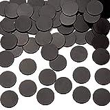 Baker Ross Selbstklebende Magnetscheiben (100 Stück) Schwarz Bastel-Magnete zum Dekorieren