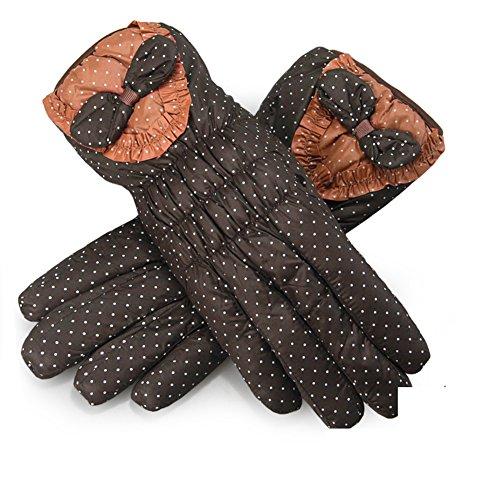 gants de coton/Gants de proue cute cartoon/Ajouter velours capitonné gants chauds D