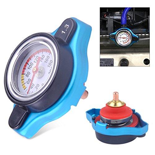 Preisvergleich Produktbild beler Universal Auto Thermo Thermostat Heizkörper Kappe Abdeckung 1.3 Bar Wasser Temperatur Messgerät