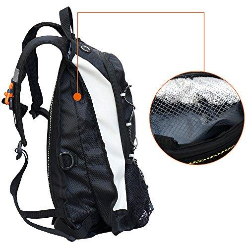 GIMARS Trinkrucksack mit 2L-Trinkblase Wasserdicht Sport Rucksack für Radfahren, Wandern, Laufen, Rennen - 7