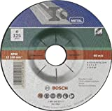 Bosch 2609256337 Grinding disc with Depressed Centre, Metal