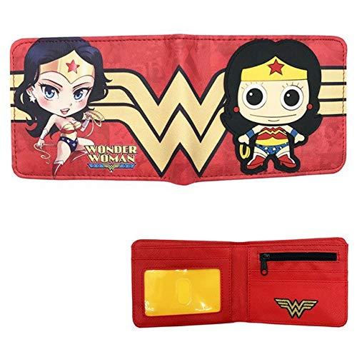 SWVV 2017 dc Wonder Woman Brieftasche Superwomen Brieftasche super Hero geldbörse Anime Brieftasche für Junge 7060201