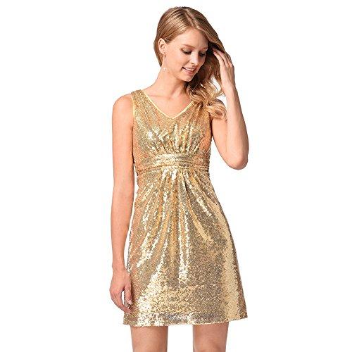 Festlich Partykleid | Damen Kleid | Kleid Kleid Europäische und Amerikanische pailletten Kostüme |...