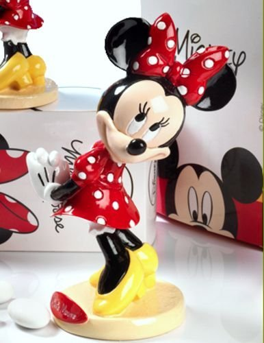 Bomboniera in resina lucida disney minnie - 15 cm