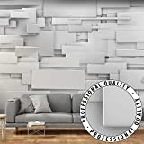 Vlies Fototapete 400x280 cm ! Top - Tapete - Wandbilder XXL - Wandbild - Bild - Fototapeten - Tapeten - Wandtapete - Wand - 3D grau f-A-0254-a-a