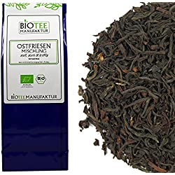 Ostfriesentee Mischung - Bio, Schwarzer Tee lose (1 x 100g)