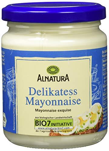 Bio-mayonnaise (Alnatura Bio Delikatess-Mayonnaise mit Ei, 6er Pack (6 x 250 ml))