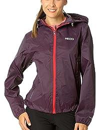 Image of + 8000Botswana–Rain Jacket for Women, aubergine - Comparsion Tool