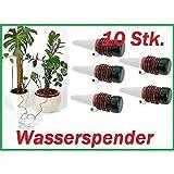 10x Bewässerung für Pflanzen Bewässerungssystem Wasserspender Urlaub Tropfer