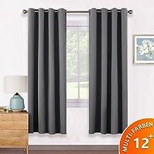 suchergebnis auf amazon.de für: vorhänge grau wohnzimmer - Vorhange Wohnzimmer Grau