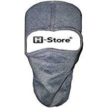 H-Store Ninja Plain Bike Riders Anti Pollution Dust Sun Protecion Full Face Cover Mask (Grey)