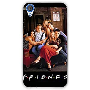 EYP TV Series FRIENDS Back Cover Case for HTC Desire 820 Dual Sim