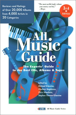 All Music Guide: The Experts' Guide to the Best CD's, Albums & Tapes (All Music Guide Series) (1997-11-24)