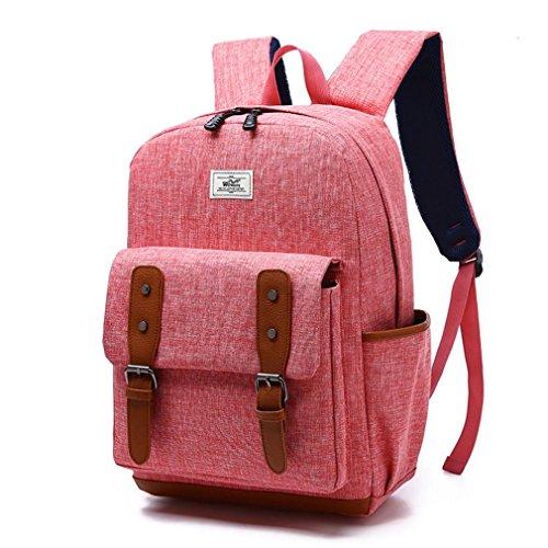 F@studenti e studentesse borse, borse per computer sacchetto di spalla casuale zaino di tendenza nuova moda , watermelon red watermelon red