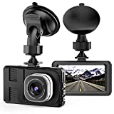 Dash Cam, Camera for Cars with Full HD 1080P 170 Degree Super Wide Angle Cameras, 3.0' TFT...