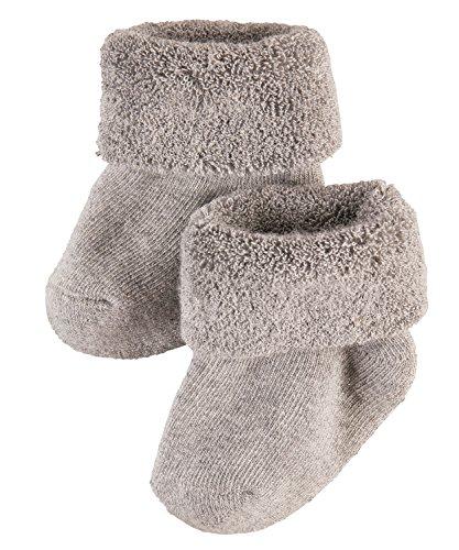 falke babysocken FALKE Baby - Jungen Erstling Socken,per pack Grau (light grey 3400),62 (Herstellergröße: 62-68)