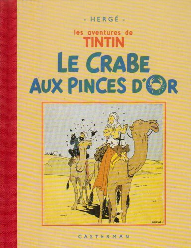 Le Crabe aux pinces d'or (Fac-similé, 1941)