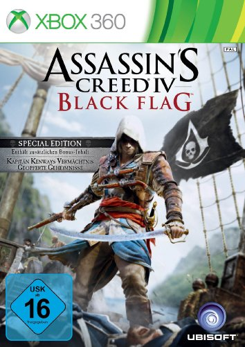 Assassin's Creed 4: Black Flag - Special Edition (exklusiv bei Amazon.de) - [Xbox 360] Assassins Creed 4 Für Die Xbox 360