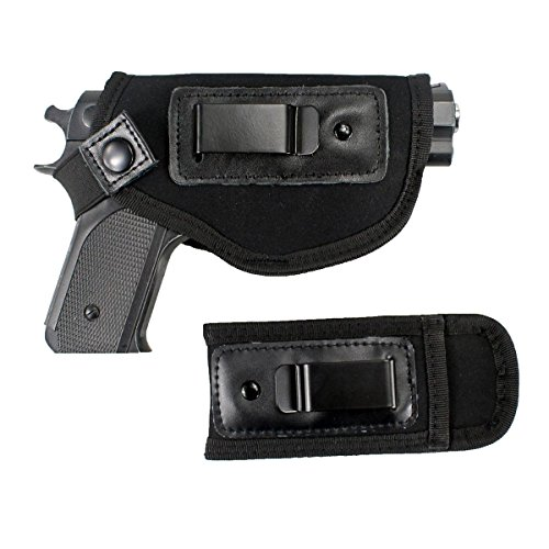 GW Universal IWB Holster for Concealed Carry/Carrier Inside The Waistband for All Firearms with Mag Pouch