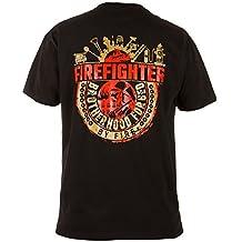 Bombero Camiseta Rule Out. Brotherhood Forjado By Fire Entrenamiento Cuerpo De Bomberos. Rescate Equipo Camiseta Ocasional
