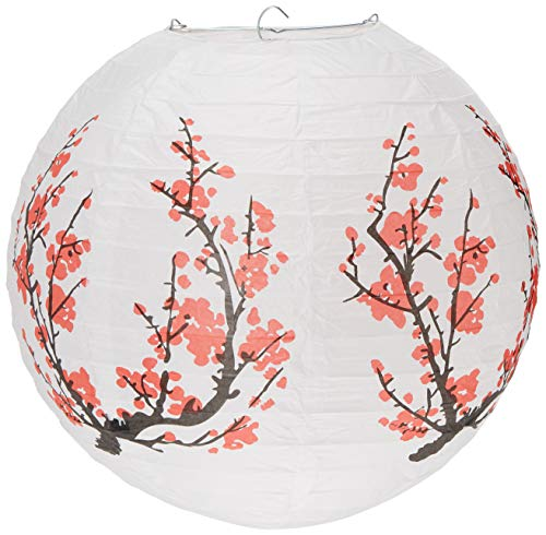quasimoon 14Japanische Pflaume Baum Papier Laterne (Single) Cherry Blossom von paperlanternstore von quasimoon
