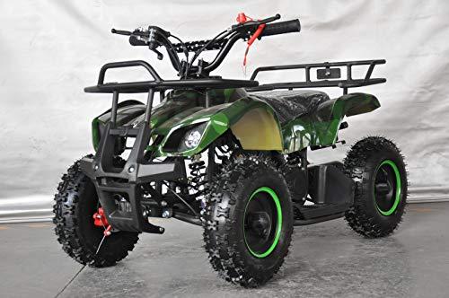 Mini quad pour enfants avec moteur 49cc 2 temps/mini quad pour les enfants (vert)