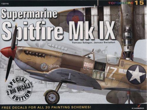 Spitfire Mk Ix Special Edition (Top Colours) por Tomasz Szlagor