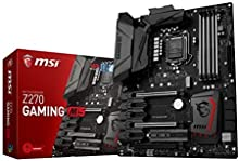 MSI Z270 GAMING M5 - Placa base Entusiasta (Chipset Intel Z270, Mystic Light, DDR4 Boost, Steel Armor, Intel LAN, Audio Boost 4 PRO, M.2 Shield, VR Ready, Military Class V)