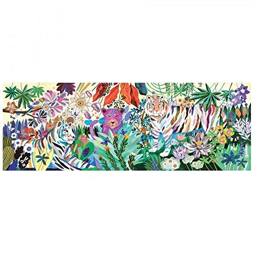 Djeco Puzzle Galerie Rainbow Tigers 1000 Teile ab 9 Jahren