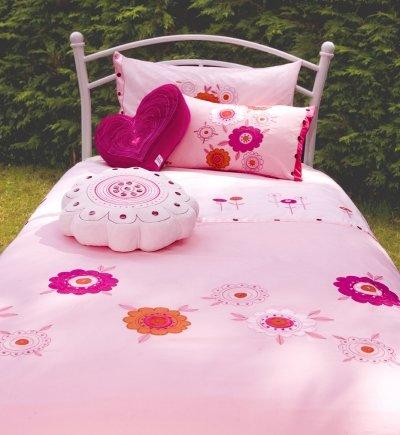 Koodle Doodle Kimoko Bettbezug-Set Designer Schlafzimmer Paket Single Bettwäsche, Kissen Thema Blumen