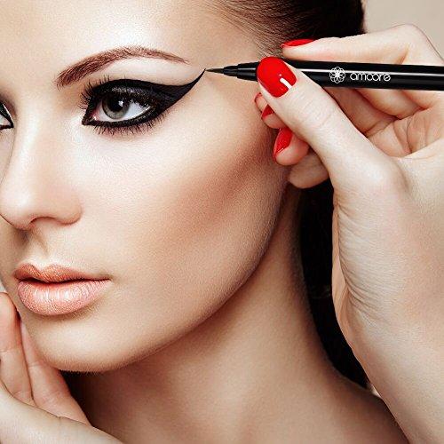amoore Waterproof Eyeliner Eye Liners Liquid Eye Liner Precise Black