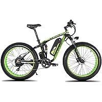 Extrbici XF800 1000W 48V 13AH Bicicleta eléctrica 26 Marco de aleación de aluminio Suspensión completa