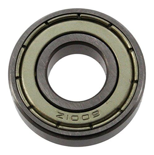 Europart 6001ZZ/60012Z Abgeschirmtes Lager, 12 x 29 x 8 mm -