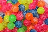 The Harlequin Brand PACK OF 50 SUPER BOUNCE BOUNCY BALL JET BALLS CHILDREN KIDS BIRTHDAY PARTY BAG GIFT TOY