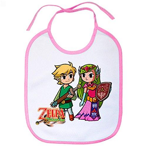 Babero La Leyenda Zelda princesa Zelda dibujitos Kawaii