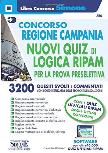 Concorso Regione Campania - Nuovi quiz di