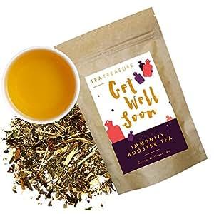 Tea Treasure Immunity Booster Whole Leaf Herbal Tea - 50 Gm