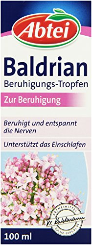 Abtei Baldrian Beruhigungs-Tropfen, 6er Pack (6 x 100 ml)