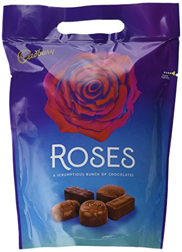 Cadbury Roses Chocolate Pouch, 450 g, Pack of 6