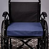 Aaram Cushion for wheelchair Spring Based, no-sweat design and 4 inch height, compression up to 3 inches