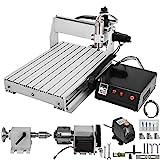 BananaB 6040 4 Axis CNC Machine Kit 600x400mm Pro Milling Machine CNC Engraving Machine 1000W MACH3 CNC Router Machine USB cnc graviermaschine 4 achse (6040 4 Axis)