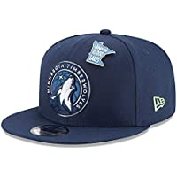 sports shoes 68404 39b6a New Era Minnesota Timberwolves 2018 NBA Draft 9FIFTY Snapback Cap Navy