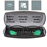Intellilens® Premium Blue Cut Zero Power Spectacles with Anti-glare for Eye Protection from