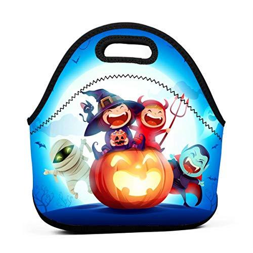 Lunchbox für Kinder, Halloween-Kostüm, Party, Lunch-Taschen für Frauen, leicht, wiederverwendbar, für Arbeit und Schule (Halloween-kostüme Arbeiten, Frauen Für)