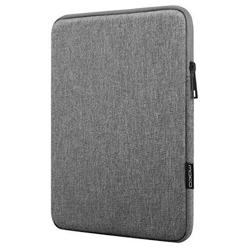 MoKo 7-8 Zoll Hülle Passend für Kindle E-Reader/Amazon Tablet, Sleeve Schutzhülle aus Polyester Tablet Tasche Geeignet für All-New Fire 7 2019/2017, Fire HD 8 2018, Kindle 8th Gen 2016 - Hell Grau