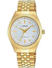 106ae5e2a76f Lorus Reloj analogico para Mujer de Cuarzo con Correa en Acero Inoxidable  RG240KX-9