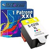 PlatinumSerie® 1x Tintenpatrone XL für Samsung INK-C210 Color CJX-1000 CJX-1050W CJX-2000FW