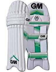 Gunn and Moore 505 para hombre protectores de piernas de críquet de seguridad para niños, color Blanco - blanco, tamaño Right Handed Mens